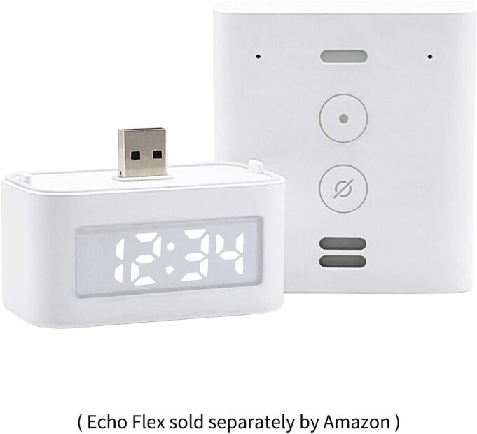 amazon echo flex orologio