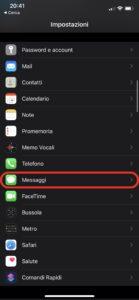 Disattivare iMessage vendere un iphone