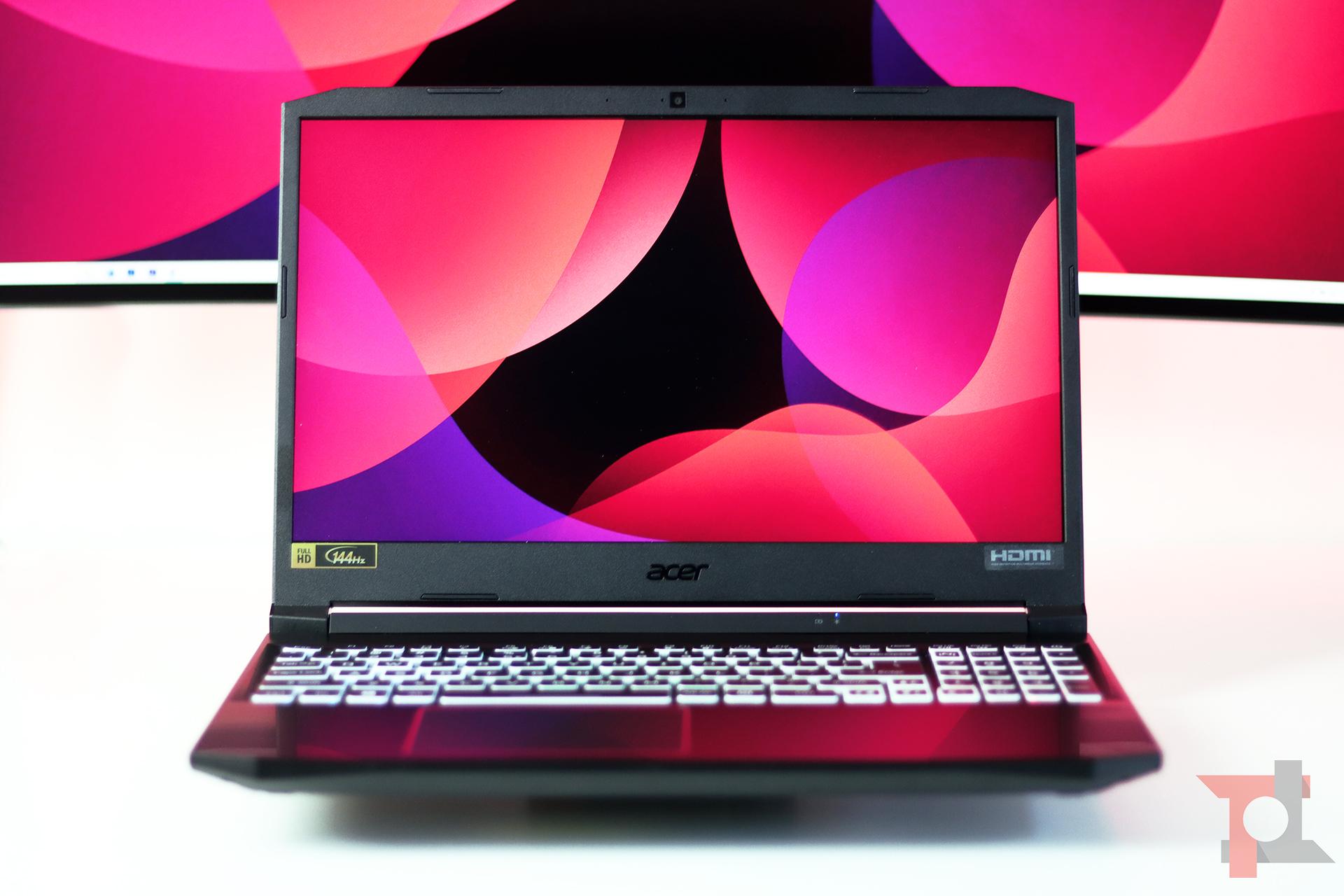 Acer nitro 5 2020 prestazioni