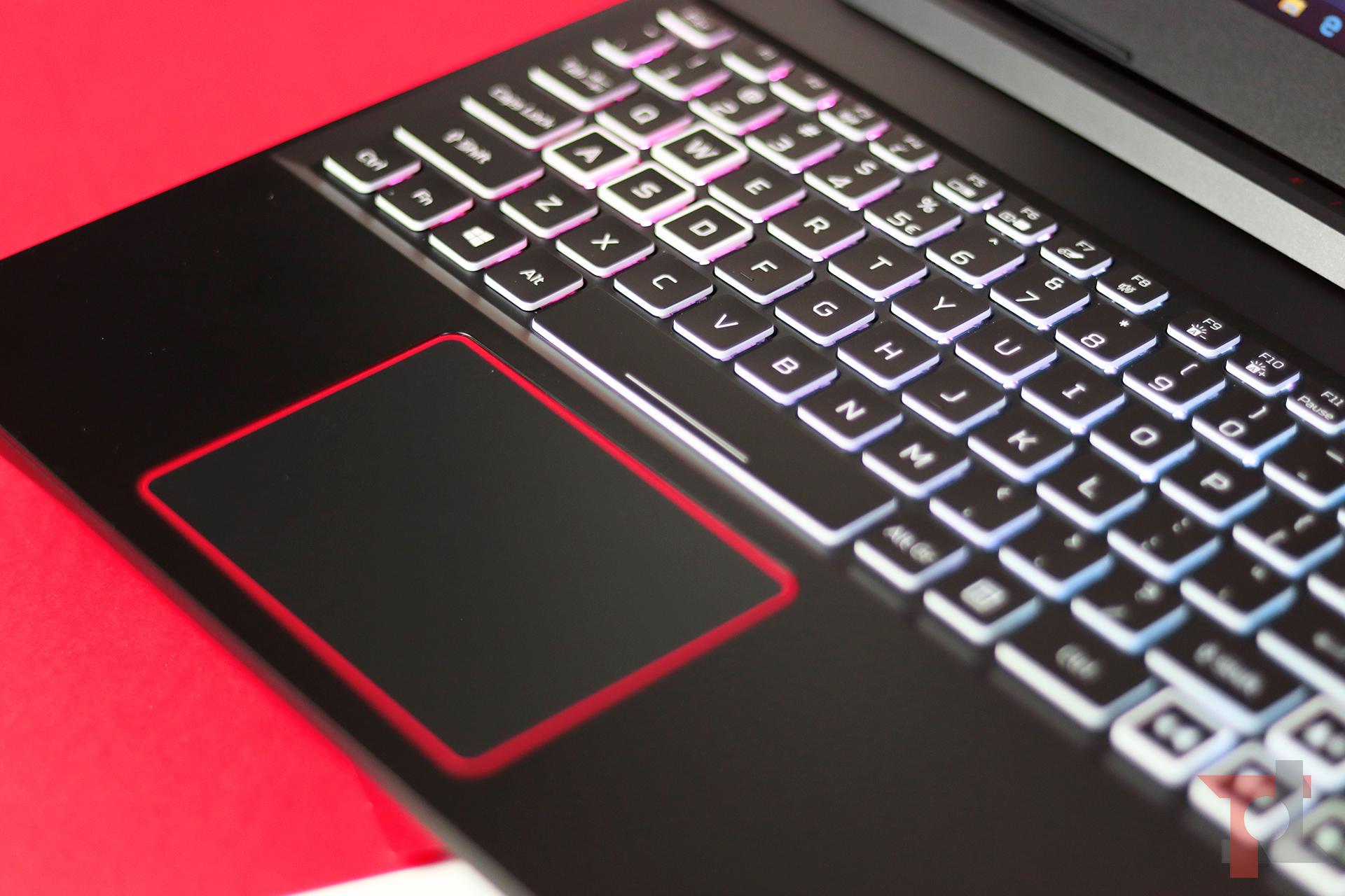 Acer nitro 5 2020 tastiera