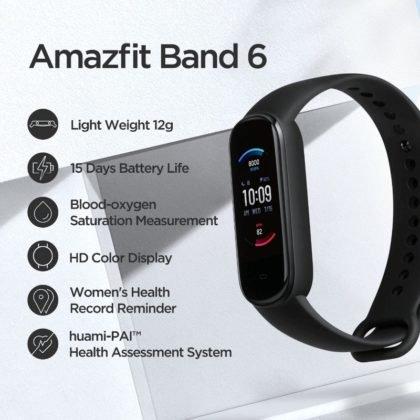 amazfit band 6