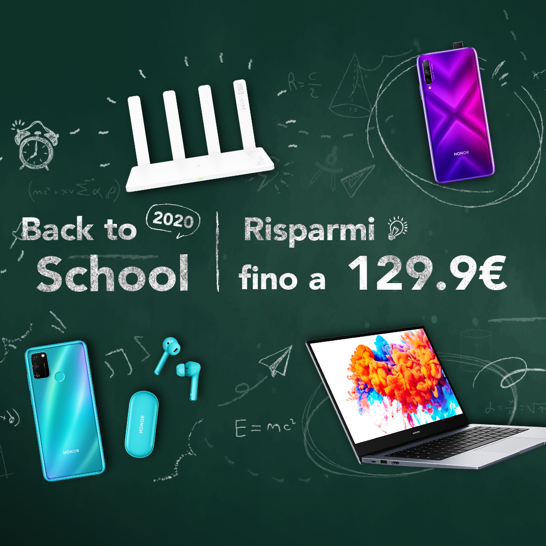offerte honor back to school