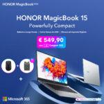 HONOR MagicBook 15 promozione di lancio
