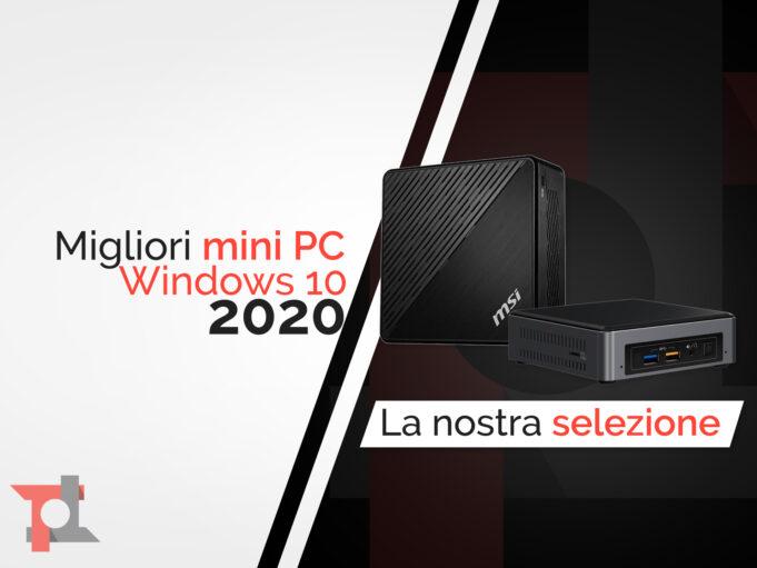 Migliori mini pc windows
