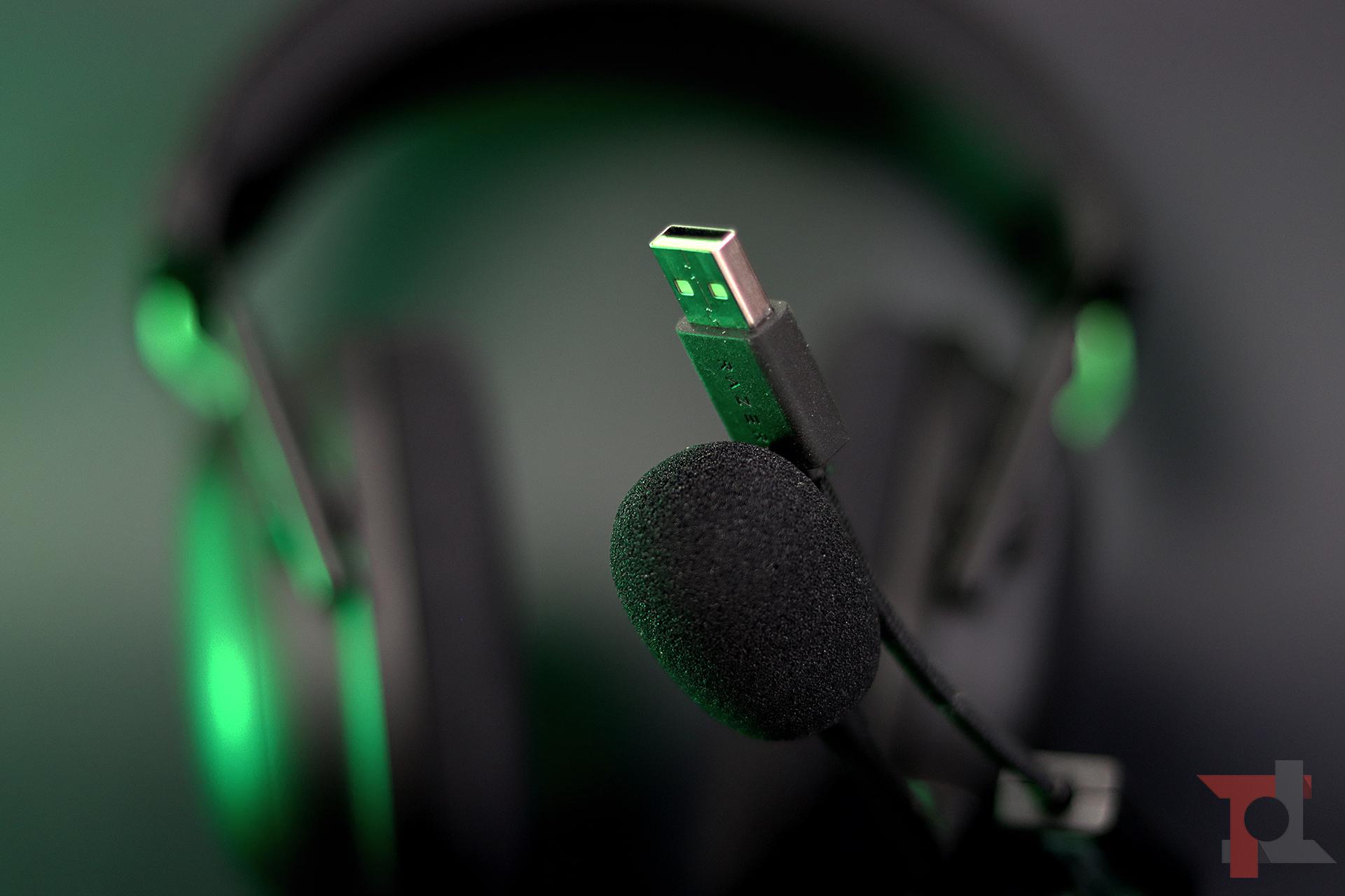 Razer Blackshark V2 scheda audio