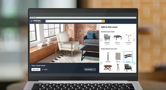 Amazon lancia Room Decorator, un nuovo strumento per lo shopping AR 2