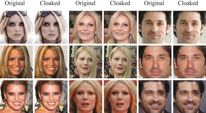fawkes applicazione riconoscimento facciale