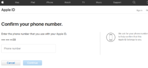 password Apple icloud