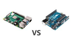 Raspberry vs arduino
