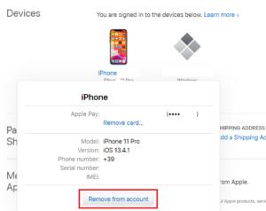 vendere un iphone apple id