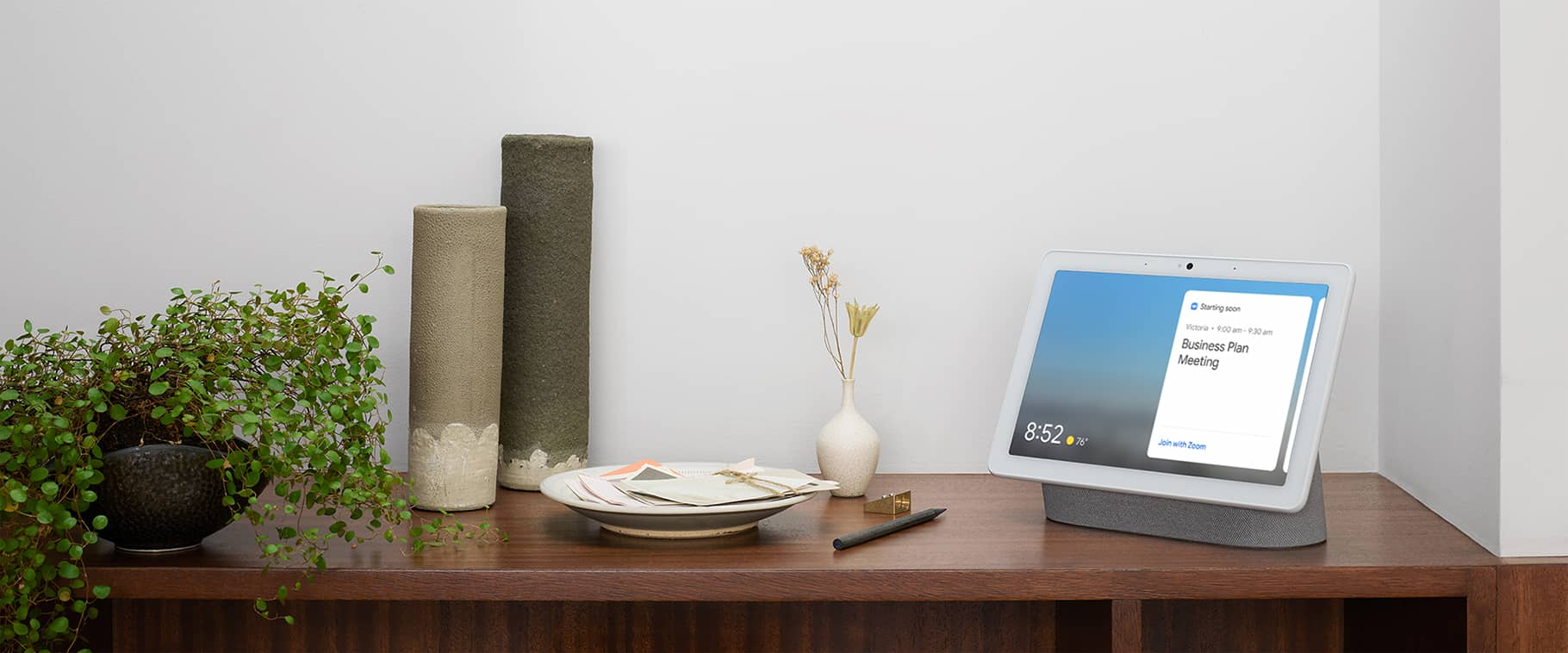 Zoom è in arrivo sui display intelligenti di Amazon, Facebook e Google 1