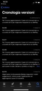 raiplay non funziona app