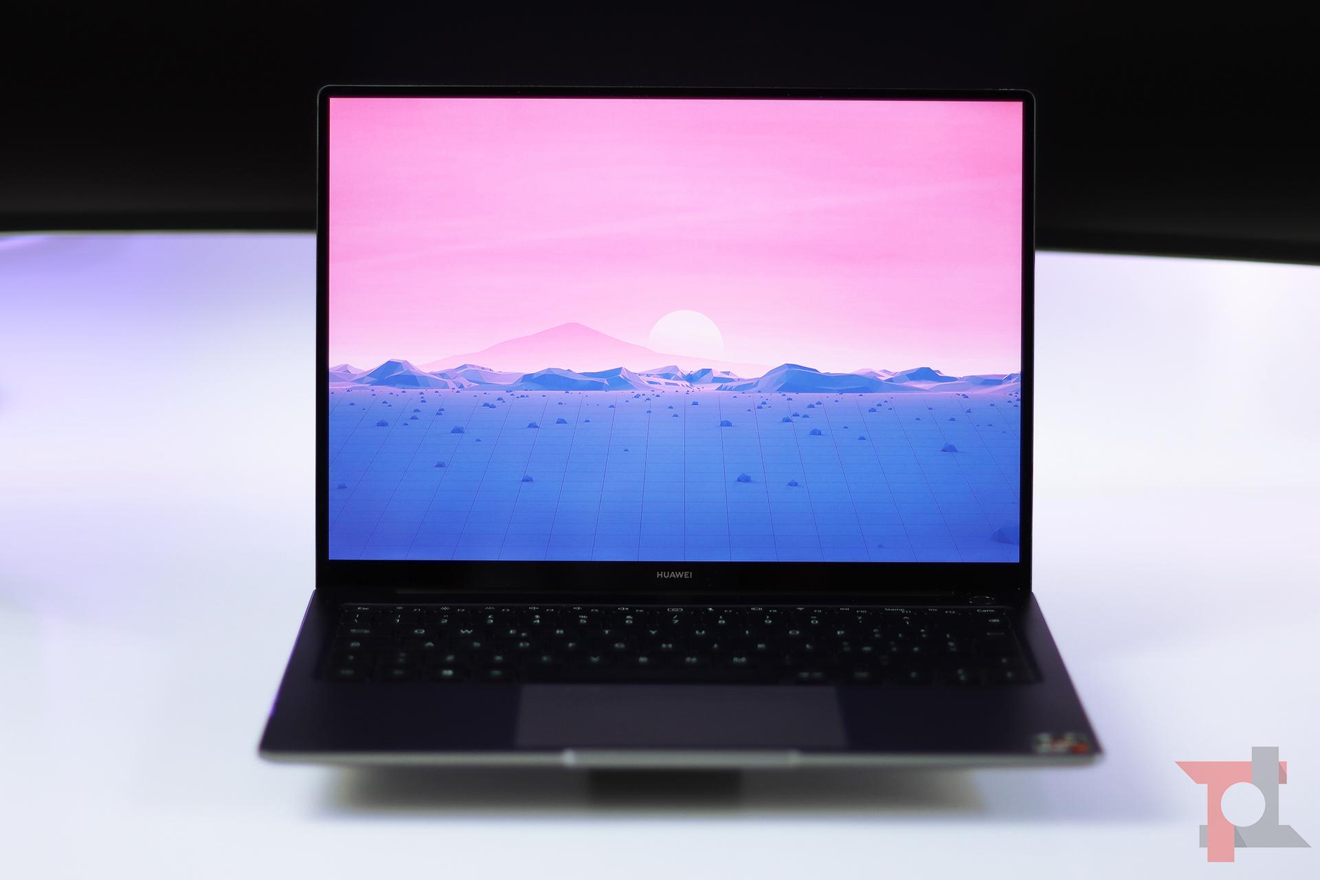 Huawei Matebook 14 AMD display