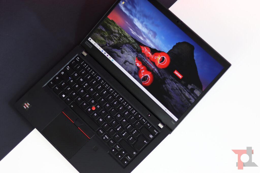 Lenovo ThinkPad T495 utilizzo