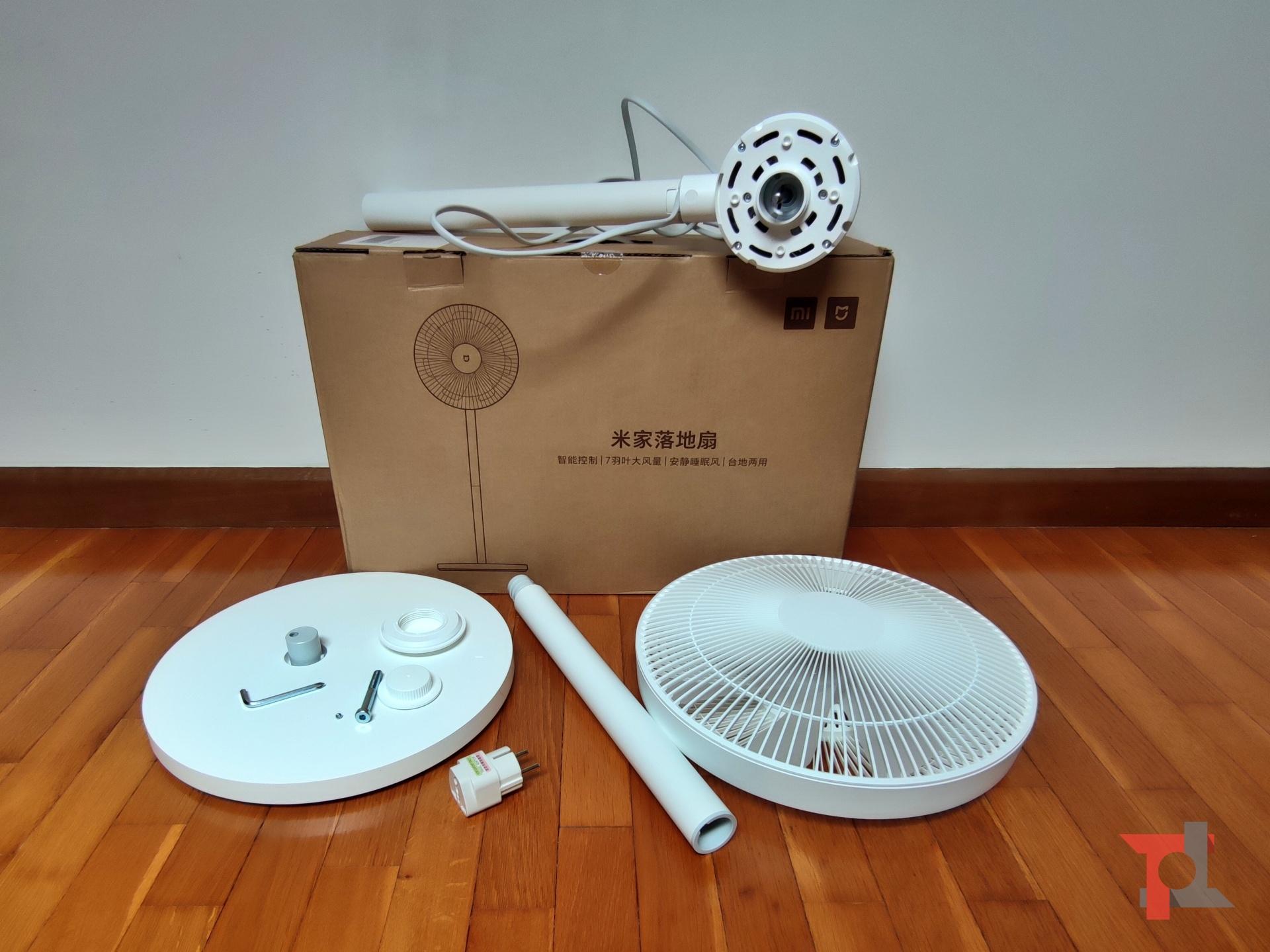 Ecco come Xiaomi Mi Standing Fan 1C ci ha tenuti freschi la scorsa estate 1