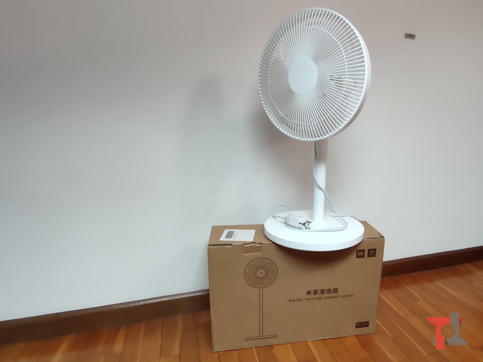 Ecco come Xiaomi Mi Standing Fan 1C ci ha tenuti freschi la scorsa estate 6