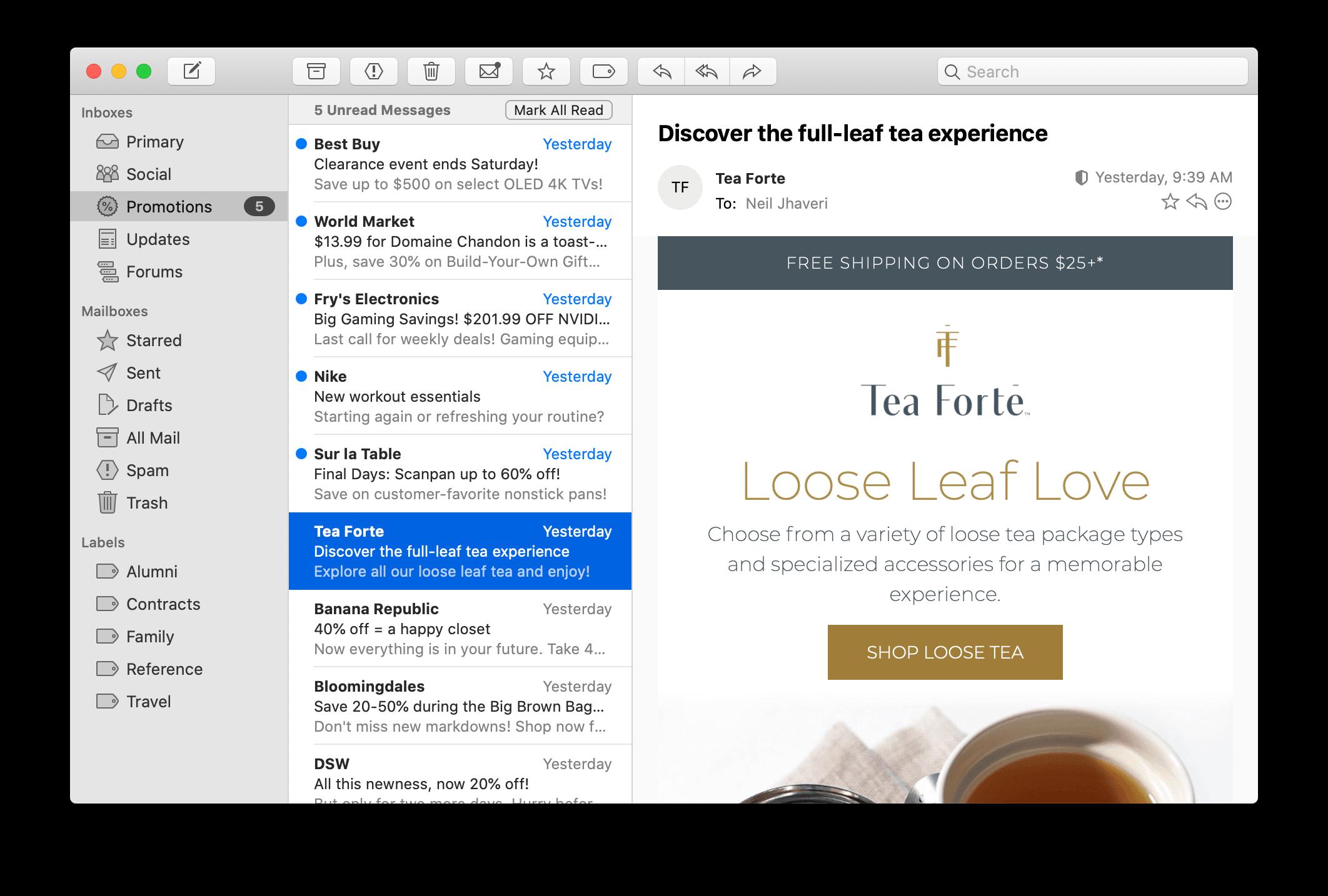 Mimestream punta a un'esperienza Gmail nativa per gli utenti macOS 1
