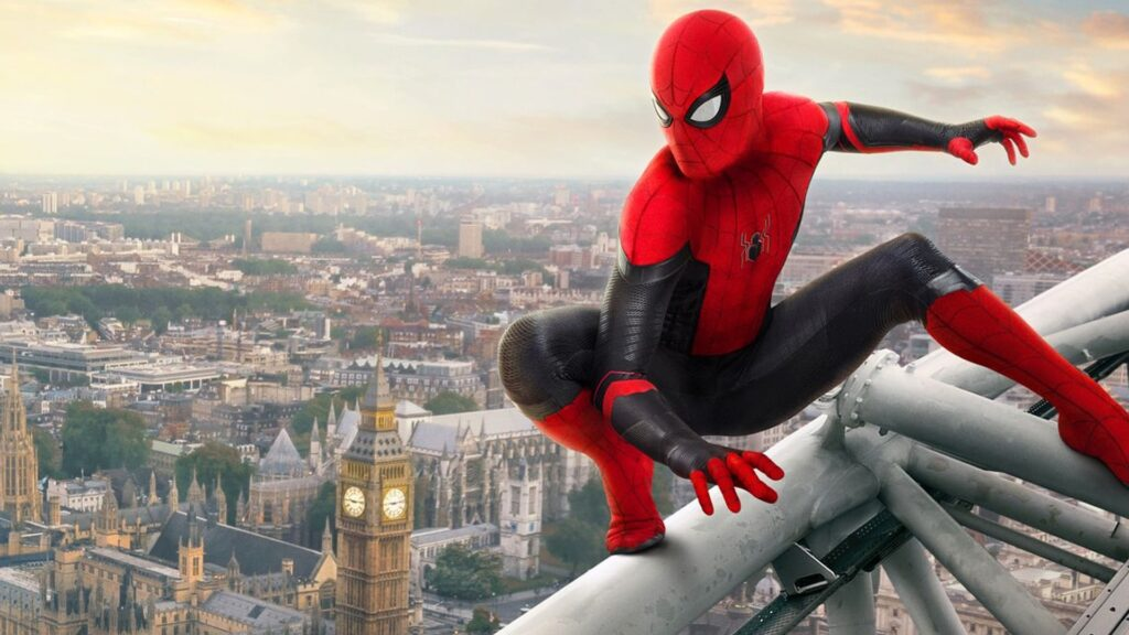 Spider-Man: Far From Home - migliori film NOW TV e Sky On Demand