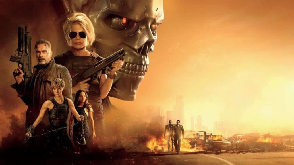 Terminator - Destino oscuro - novità NOW TV e Sky On Demand ottobre 2020
