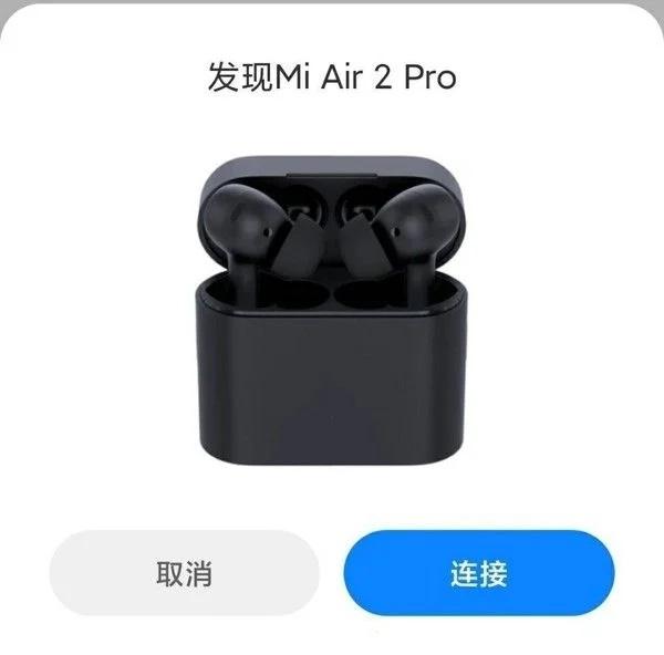 Le cuffie true wireless Mi Air 2 Pro trapelano online 1