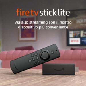 Amazon Fire TV Stick, Fire TV Stick Lite e Fire TV Cube: prezzi e novità 2