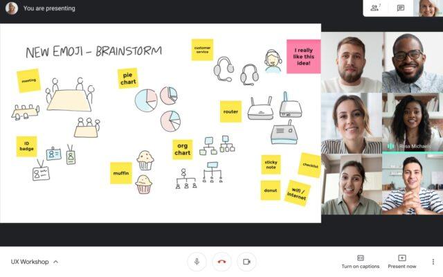 google meet jamboard integrazione