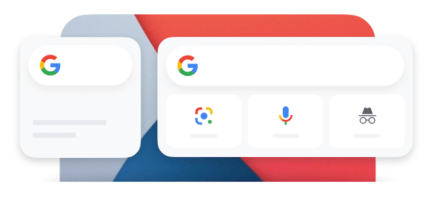 google widget ios 14