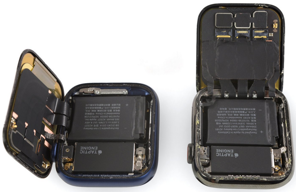 Teardown di Apple Watch Series 6: migliora la batteria, non la riparabilità 1