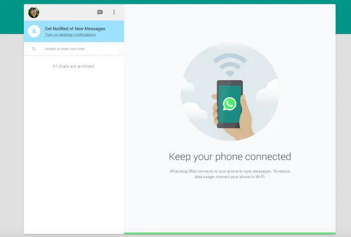 whatsapp web non funziona chat
