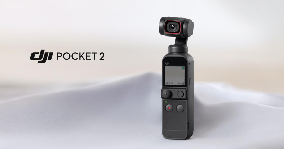 DJI lancia il gimbal tascabile Pocket 2 4K con stabilizzazione a tre assi 1