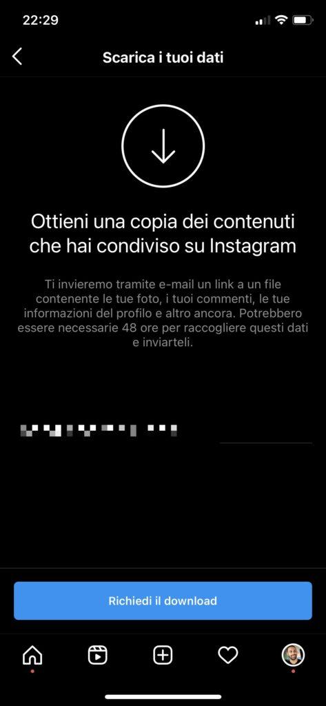 Come scaricare foto da Instagram iOS Android