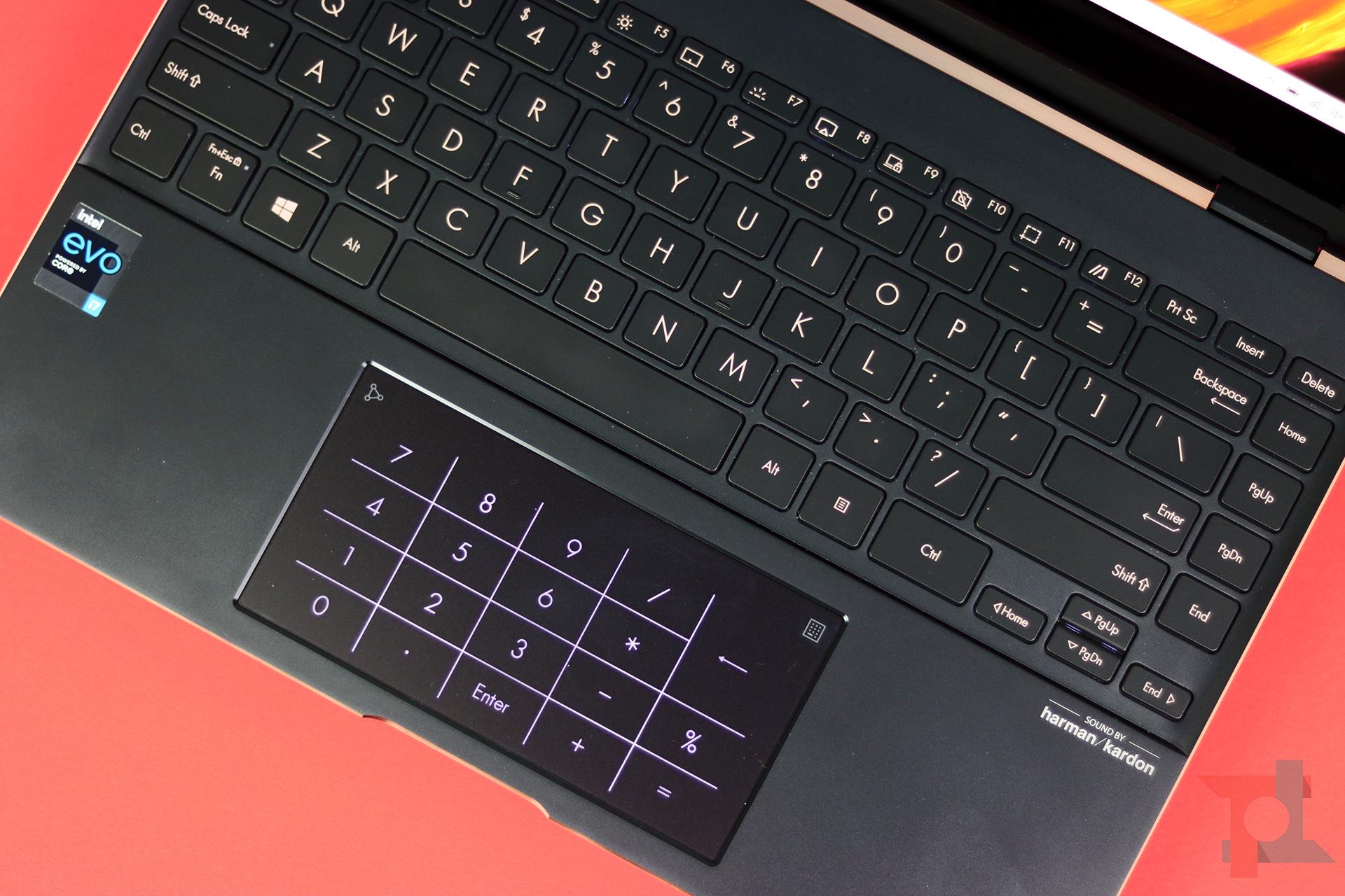 Asus Zenbook Flip S tastiera