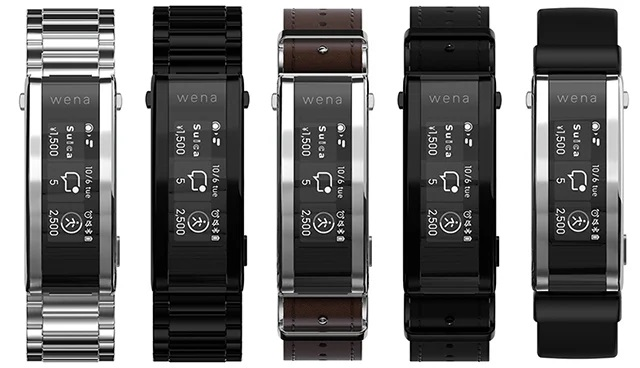 Cinturino smart Sony Wena 3