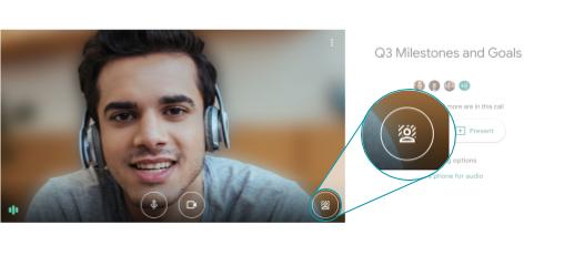 Google Meet consente di personalizzare lo sfondo nelle videochiamate 1