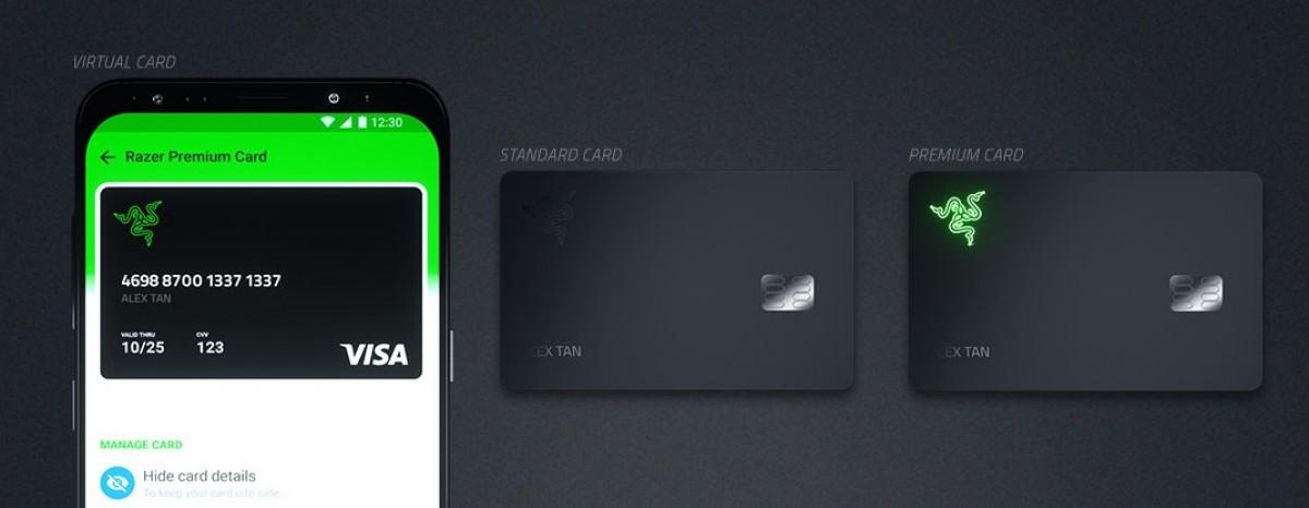 Razer Card è una carta Visa prepagata con l'1% di rimborso sugli acquisti 1