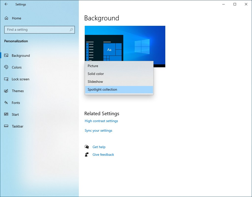 Windows 10 riceverà presto il codec AV1. Possibile anche Spotlight per desktop 1