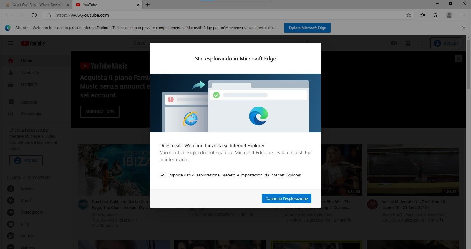 Internet Explorer spingerà gli utenti a utilizzare Microsoft Edge 2