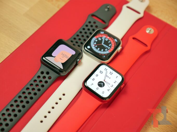 Apple Watch 6, SE, 3