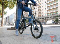 Recensione bici elettrica pieghevole Fiido D11