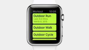 come usare Siri Apple Watch allenamento