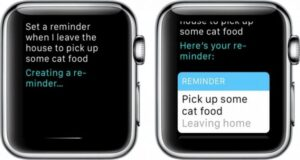 come usare Siri Apple Watch note promemoria allarmi
