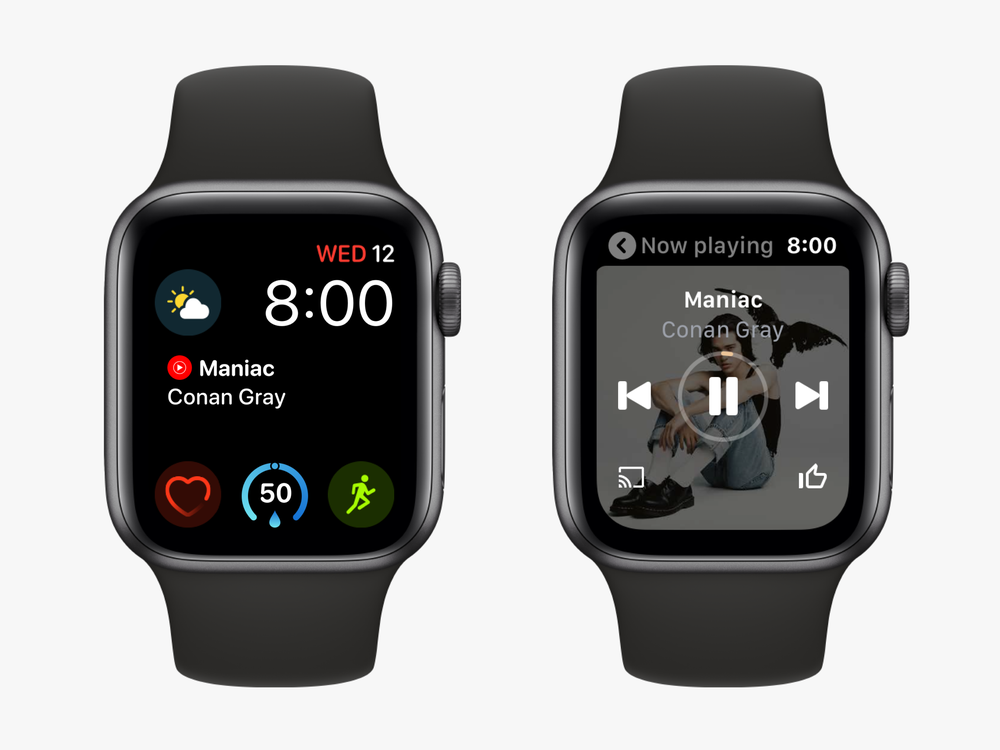 YouTube Music Apple Watch