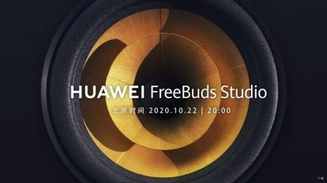 huawei freebuds studio lancio 22 ottobre