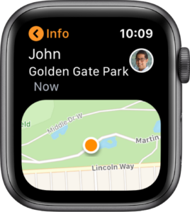 come usare Siri su Apple Watch Trova amici