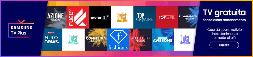 samsung tv plus aggiornamento nuovi canali