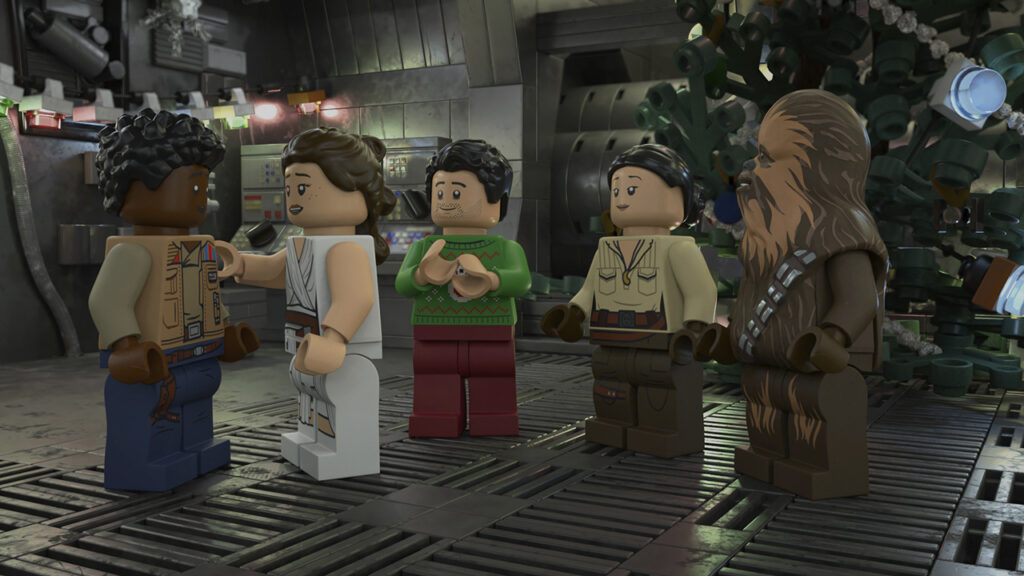 Lego Star Wars Christmas Special - novità Disney+ novembre 2020