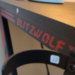 Gaming o smart working? Abbiamo provato una scrivania e una sedia Blitzwolf 12