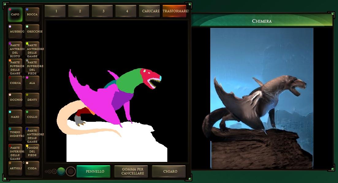 Chimera Painter trasforma i vostri schizzi in mostri fantasy grazie all'IA 1