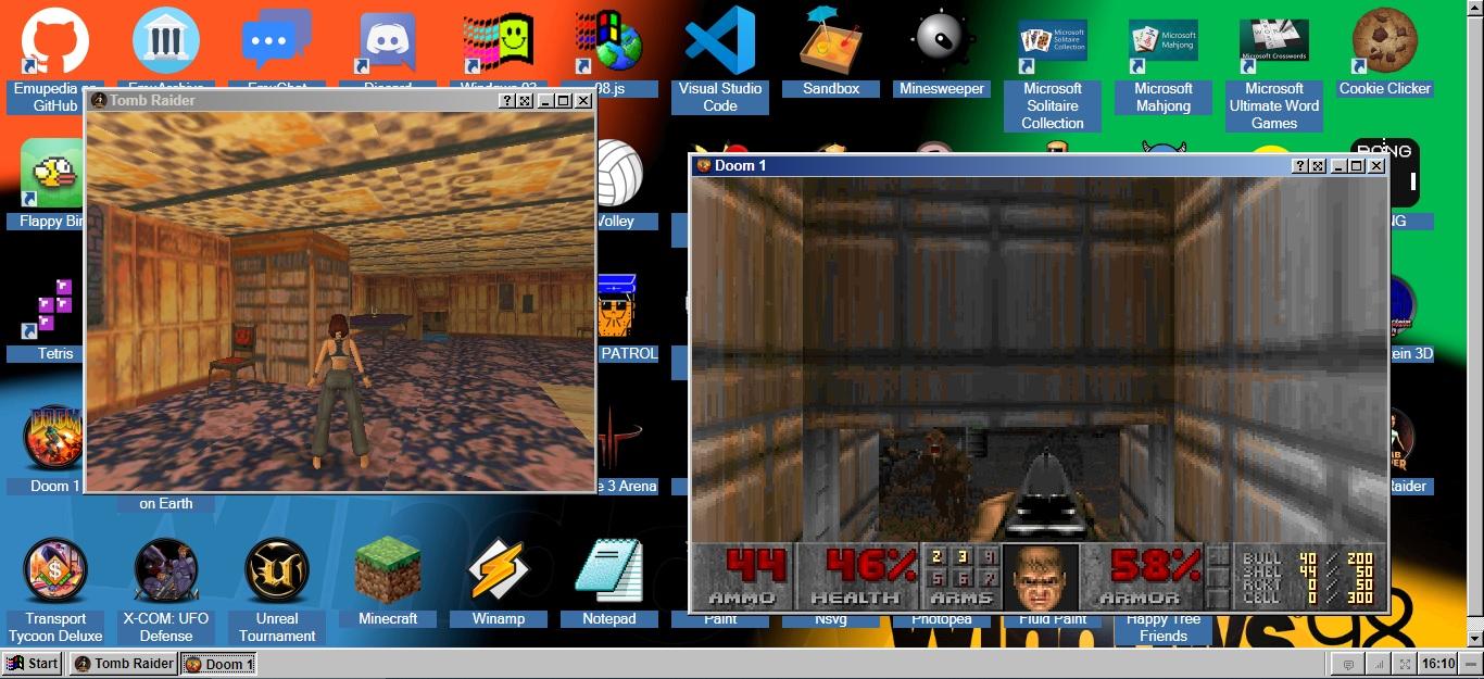 EmuOS emula i vecchi sistemi operativi con software e giochi retro 2