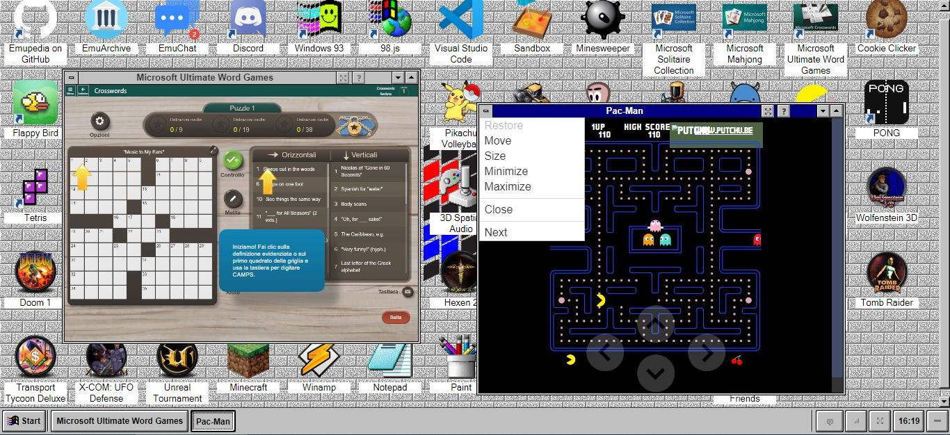 EmuOS emula i vecchi sistemi operativi con software e giochi retro 3